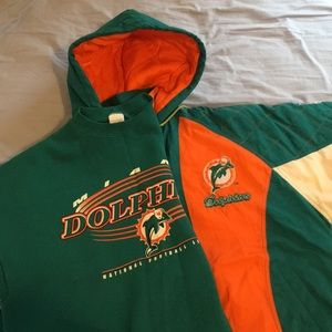 Miami dolphins jacket and pullover sets